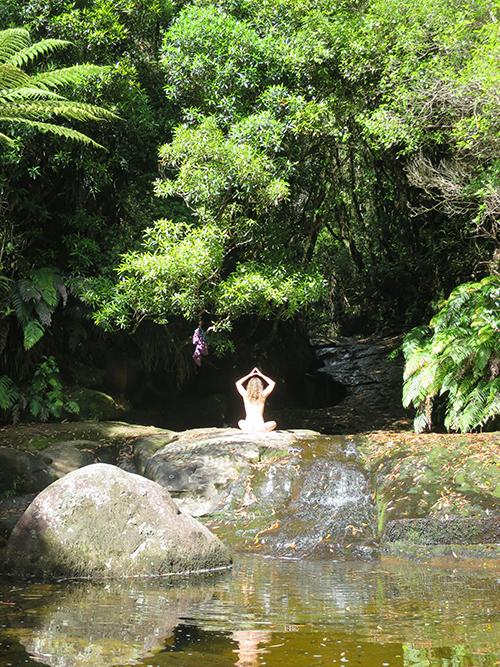 pool yogini